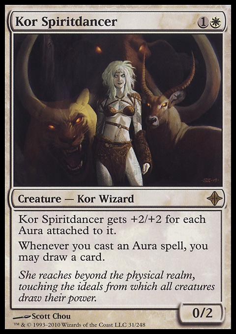 Kor Spiritdancer card from Rise of the Eldrazi