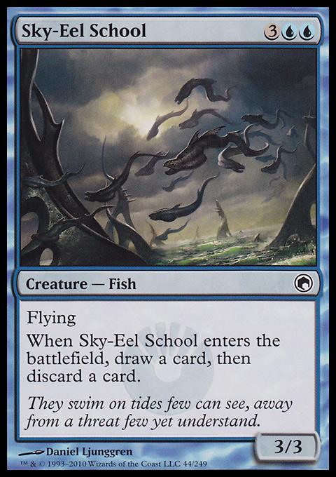 Sky-Eel School