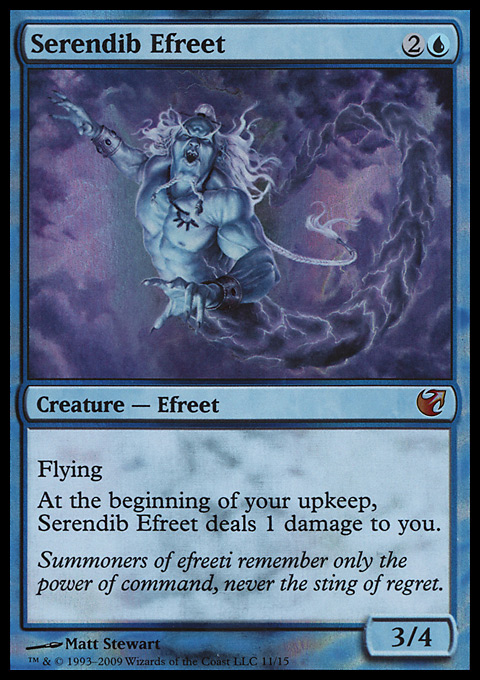 Serendib Efreet card from From the Vault: Exiled