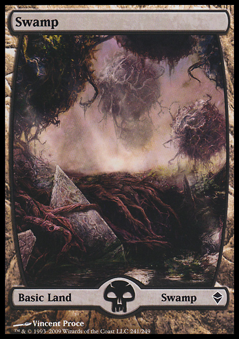 Swamp original card image
