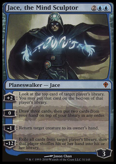 Jace, the Mind Sculptor original card image