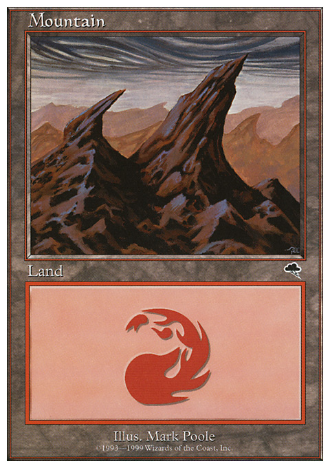 Mountain (116) card from Battle Royale Box Set