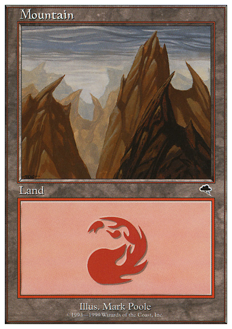 Mountain (117) card from Battle Royale Box Set