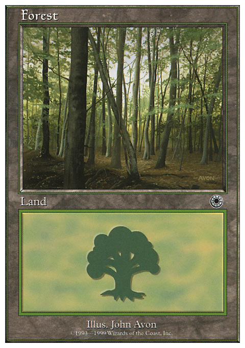 Forest (103) card from Battle Royale Box Set