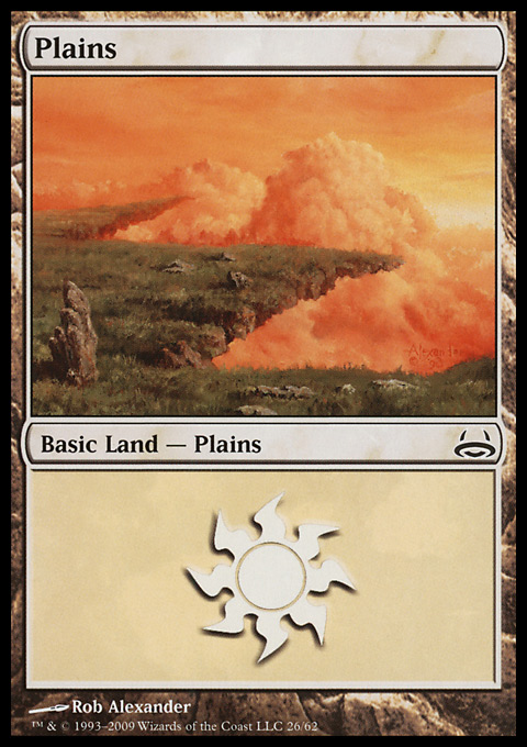 Plains (26)  card from Duel Decks: Divine vs. Demonic