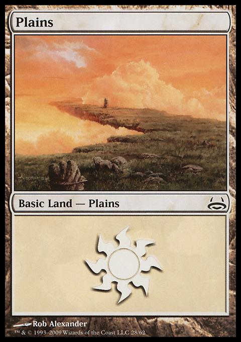Plains (28)  card from Duel Decks: Divine vs. Demonic
