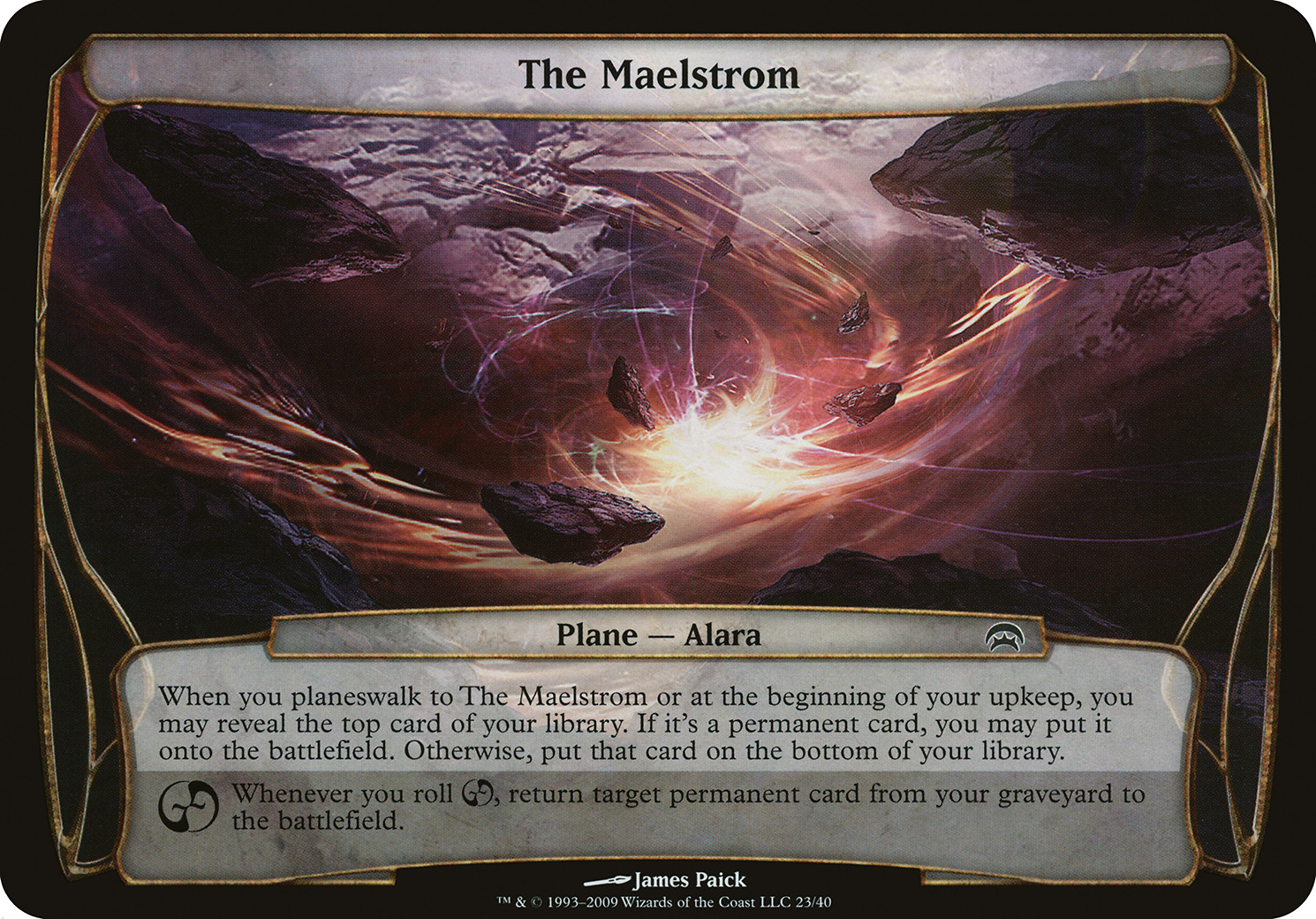 The Maelstrom (Planechase)