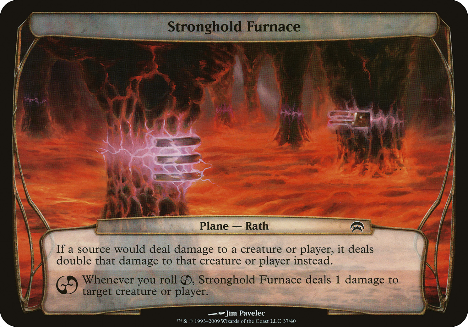 Stronghold Furnace (Planechase)