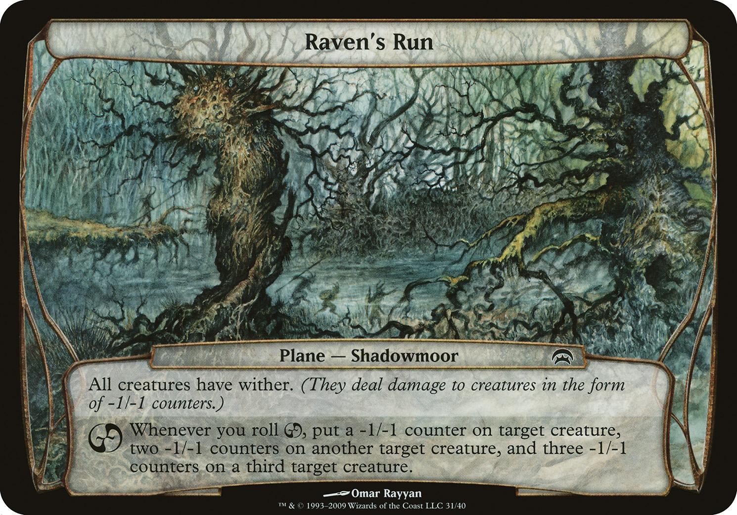 Raven's Run (Planechase)