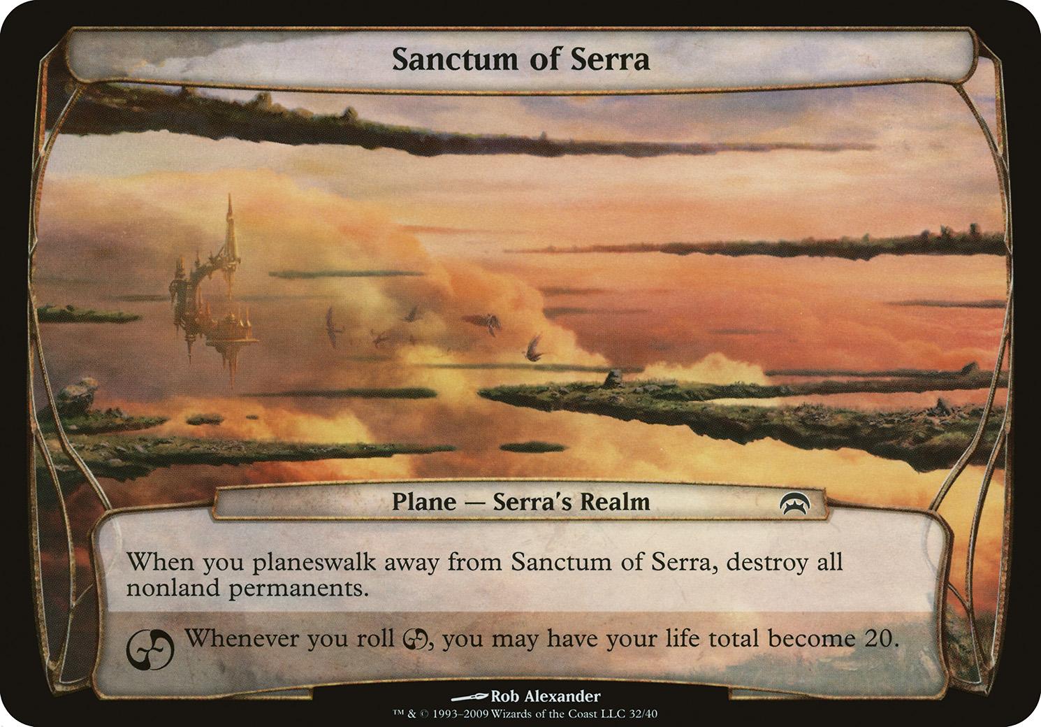 Sanctum of Serra (Planechase)