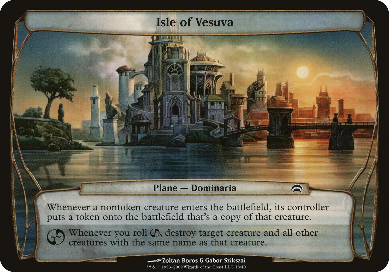 Isle of Vesuva (Planechase)
