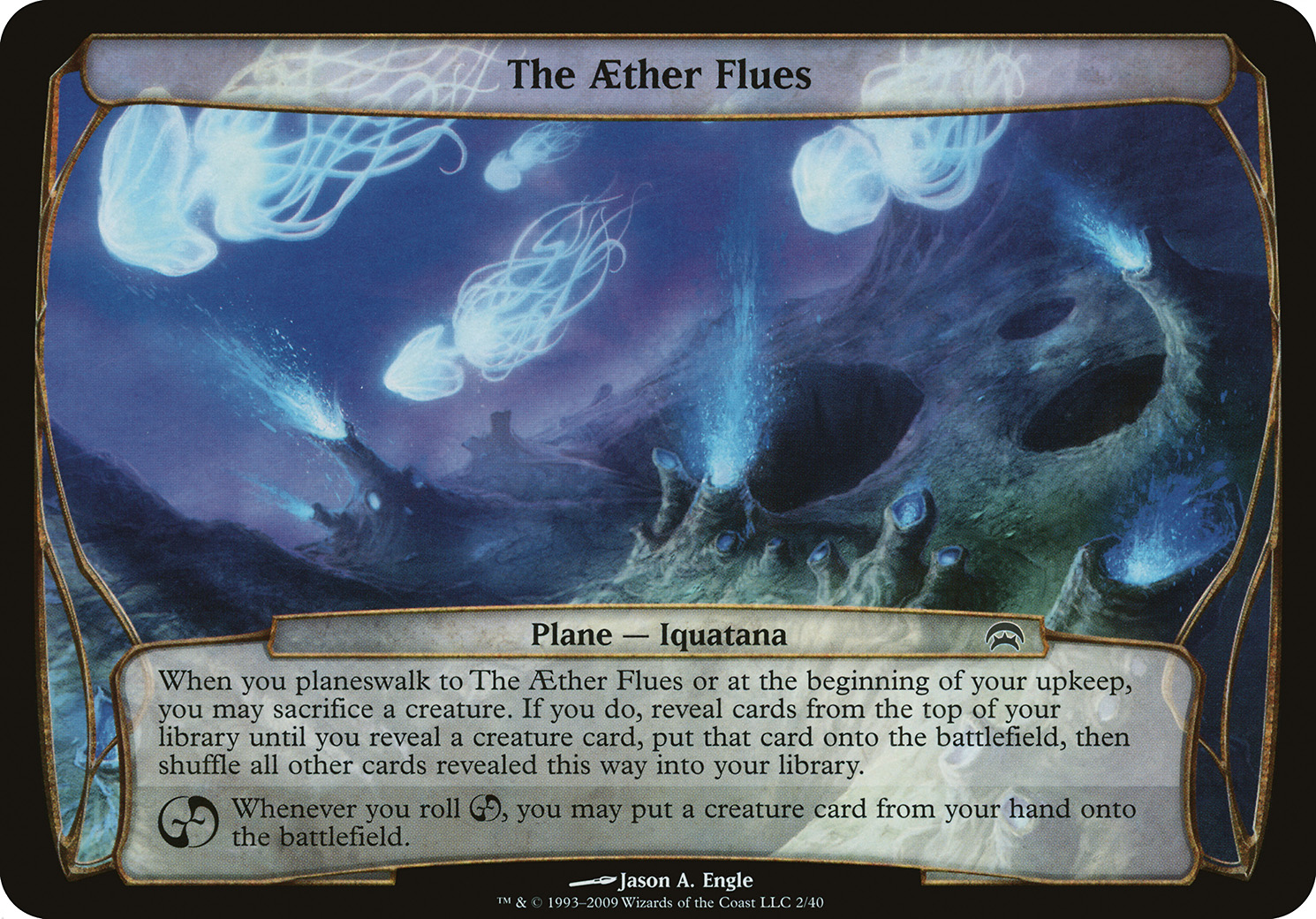 The AEther Flues (Planechase)