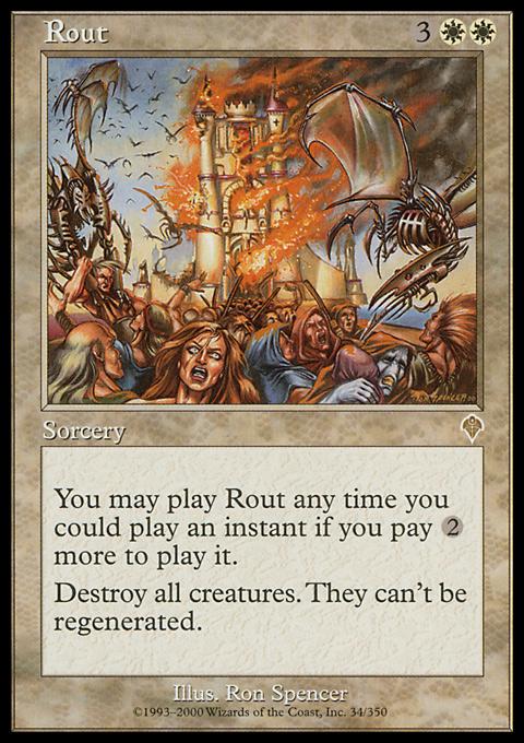 Rout original card image