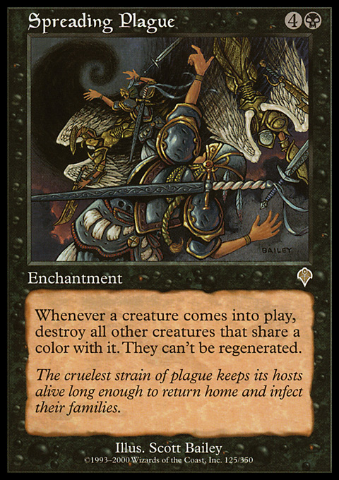 Spreading Plague card from Invasion