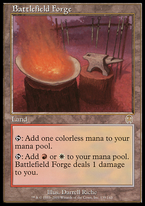 Battlefield Forge card from Apocalypse