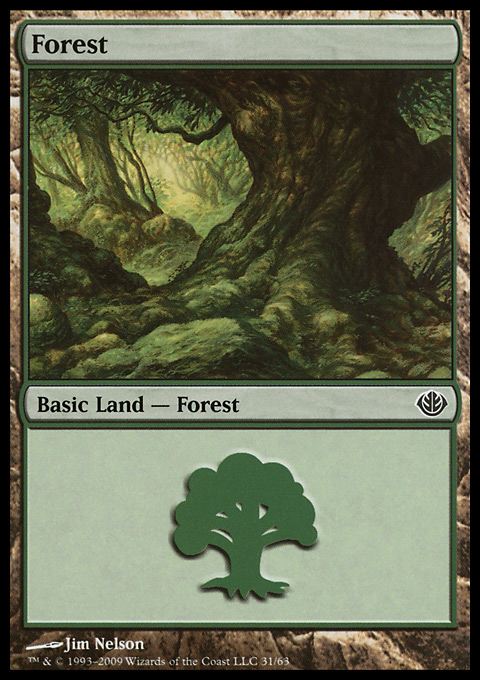 Forest (31) card from Duel Decks: Garruk vs. Liliana