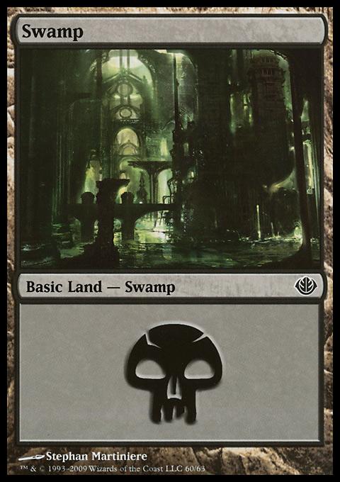Swamp (60)  card from Duel Decks: Garruk vs. Liliana