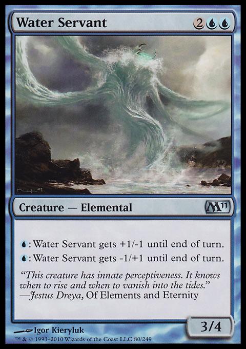 Water Servant original card image