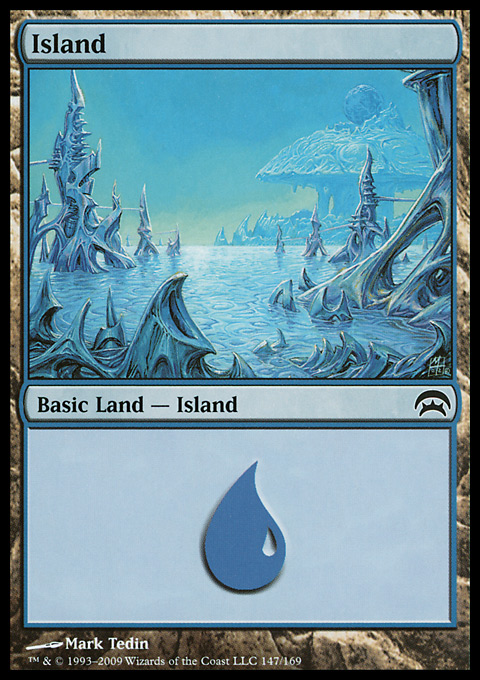 Island (147) card from Planechase
