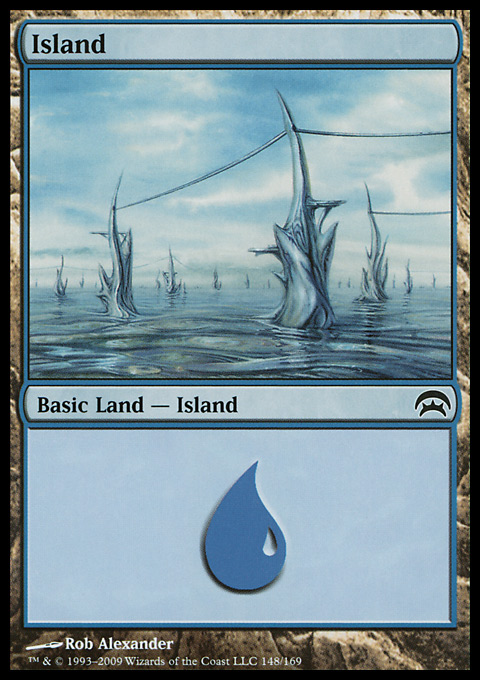 Island (148) card from Planechase