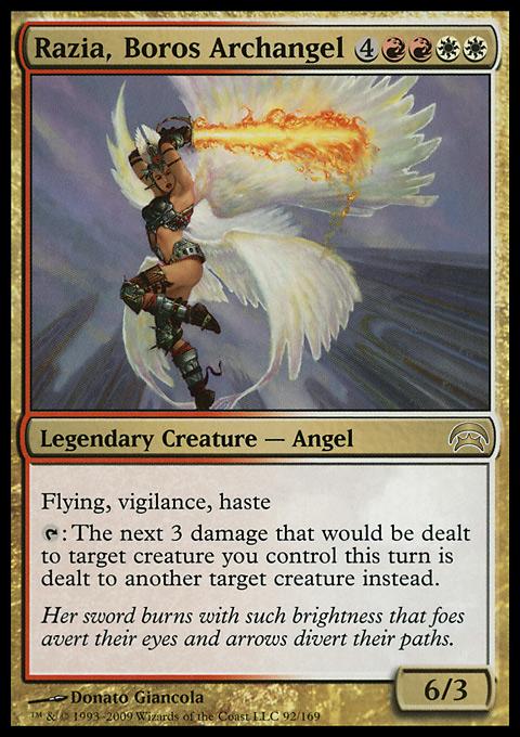 Razia, Boros Archangel original card image