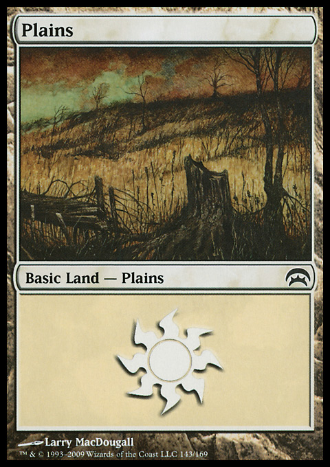 Plains (143) card from Planechase