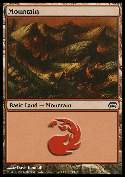 Mountain (163)  card from Planechase