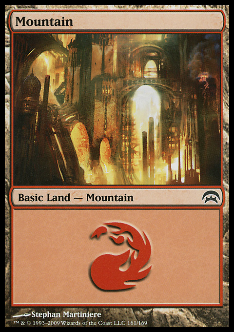 Mountain (161)  card from Planechase