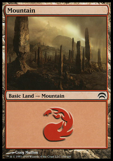 Mountain (156)  card from Planechase