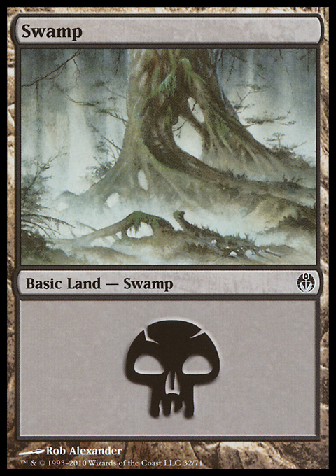 Swamp (32)  card from Duel Decks: Phyrexia vs. the Coalition