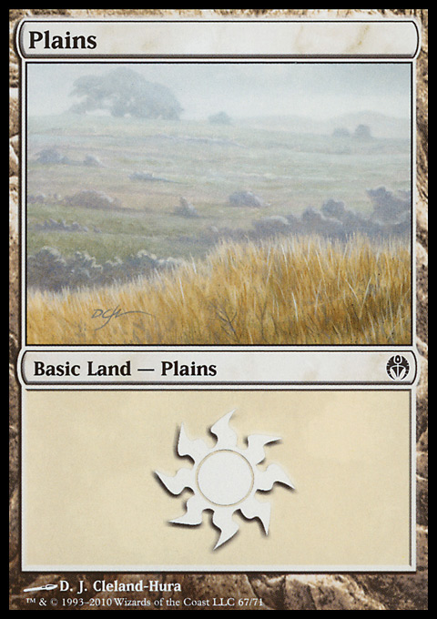 Plains (67)  card from Duel Decks: Phyrexia vs. the Coalition