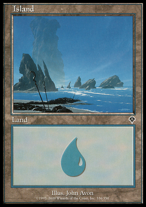 Island (336) card from Invasion
