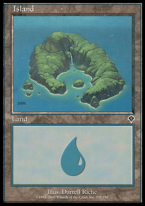 Island (338) card from Invasion