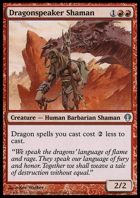 Dragonspeaker Shaman card from Archenemy