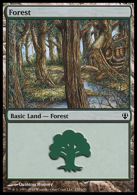 Forest (150)  card from Archenemy