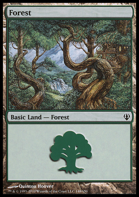 Forest (148)  card from Archenemy