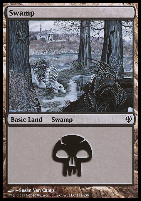 Swamp (142)  card from Archenemy