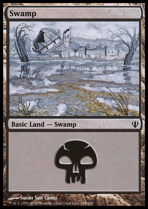 Swamp (144)  card from Archenemy