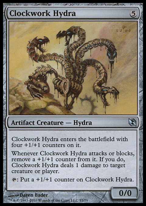 Clockwork Hydra card from Duel Decks: Elspeth vs. Tezzeret