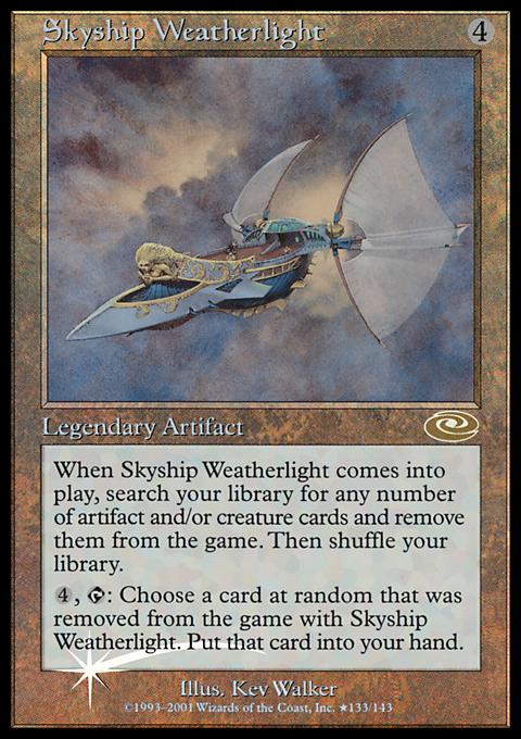 Skyship Weatherlight (Alt. Art Foil)