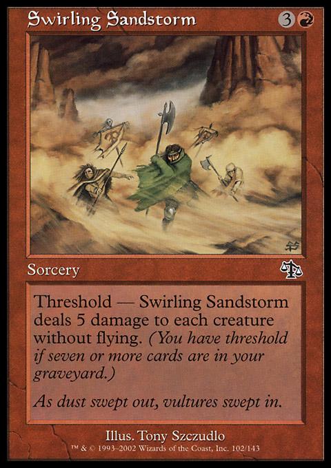 Swirling Sandstorm