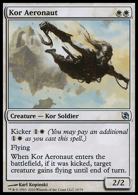 Kor Aeronaut card from Duel Decks: Elspeth vs. Tezzeret