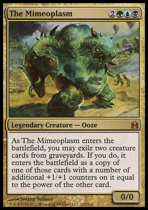 The Mimeoplasm original card image