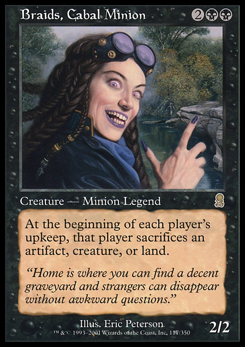 Braids, Cabal Minion original card image