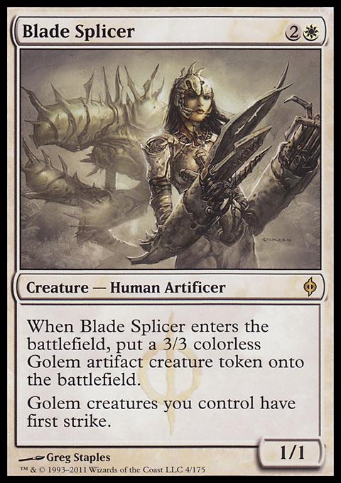 Blade Splicer original card image