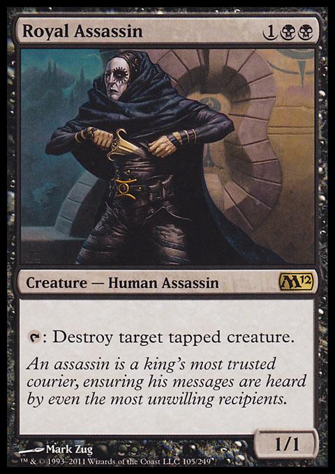 Royal Assassin card from Magic 2012