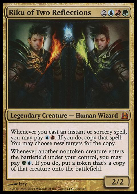 Riku of Two Reflections original card image