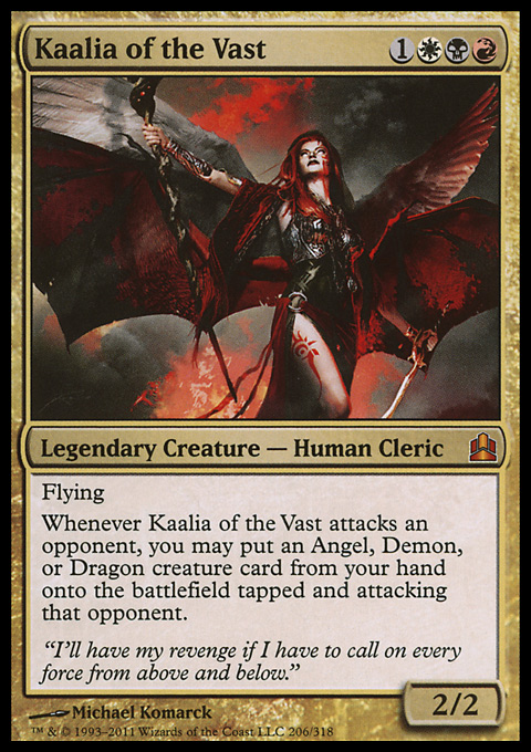 Kaalia of the Vast original card image