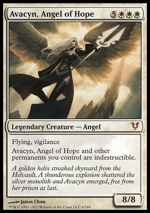 Avacyn, Angel of Hope original card image