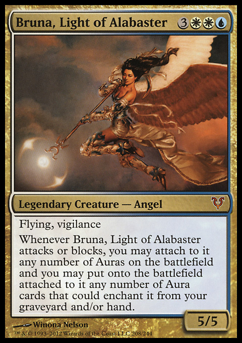 Bruna, Light of Alabaster original card image